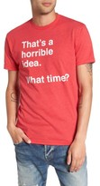 Kid Dangerous Men's Horrible Idea Graphic T-Shirt