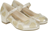 Accessorize Glitter Heart Mini Heel Shoes