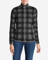 Eddie Bauer Women's Radiator Fleece Full Zip Jacket - Plaid