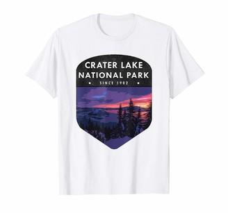 Wanderlust CRATER LAKE National Park T Shirt Hiking