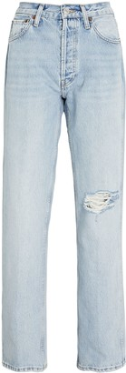 RE/DONE 90s High-Rise Loose Straight-Leg Jeans
