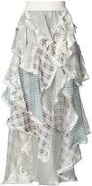 Zimmermann ruffled floral print dress - women - Silk/Cotton/Linen/Flax/Polyimide - 1