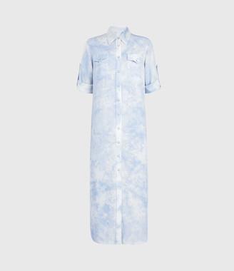 AllSaints Aliza Tie Dye Dress