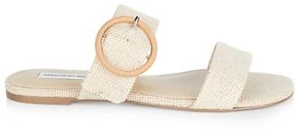 Saks Fifth Avenue Samora Woven Flat Sandals