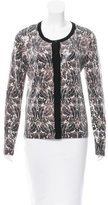 Tory Burch Sequin Embellished Wool Cardigan