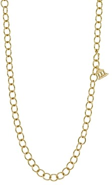 Temple St. Clair 18K Oval Chain Necklace, 32