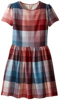 Paul Smith Pink Blue Plaid Dress Girl's Dress