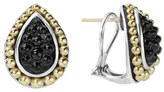Lagos Women's 'Black Caviar' Stud Earrings