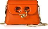 J.W.Anderson Tangerine Leather Mini Pierce Bag