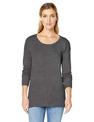 Amazon Essentials Scoopneck Tunic Cardigan,US S (EU S - M)
