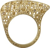 Yossi Harari Lace Structure Diamond Ring