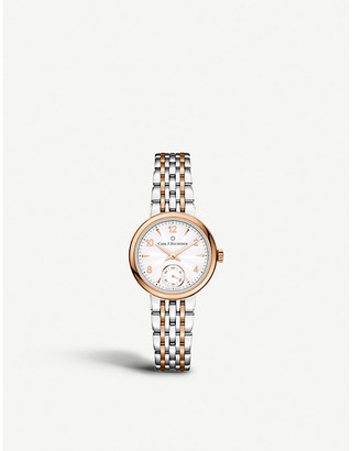 00.10317.07.26.21 Adamavi Stainless steel rose-gold sapphire crystal watch