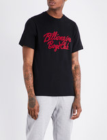 Billionaire Boys Club Logo-embroidered cotton T-shirt
