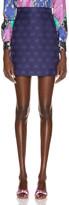 Gucci GG Diagonal Mini Skirt in Royal Bluette | FWRD
