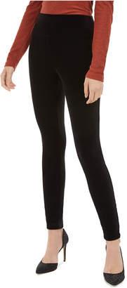 INC International Concepts I.n.c. Velvet Pull-On Skinny Pants