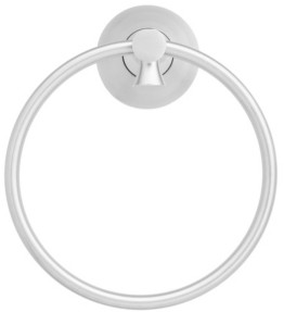 Arista Bath Products Arista Arlington Towel Ring Chrome Finish Bedding