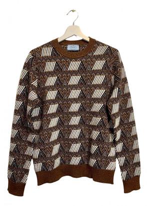 Prada Gold Cashmere Knitwear