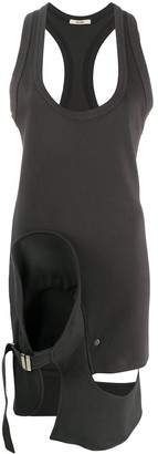 Zilver Tidy bodycon jersey dress