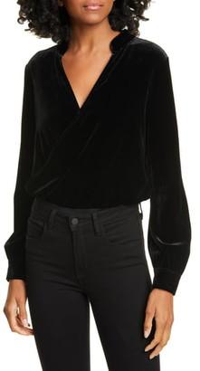 L'Agence Marcella Velvet Bodysuit