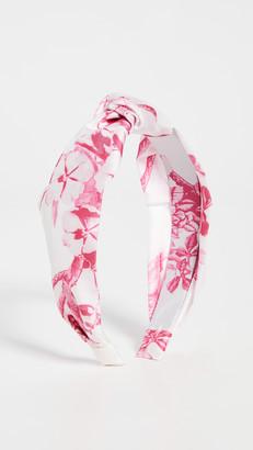 HEMANT AND NANDITA Pink Print Headband