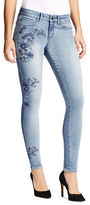 William Rast Skinny-Fit Embroidered Jeans