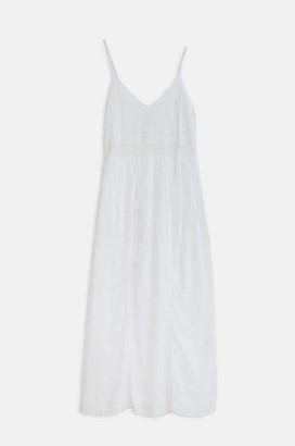 Dream Strappy White Dress - L