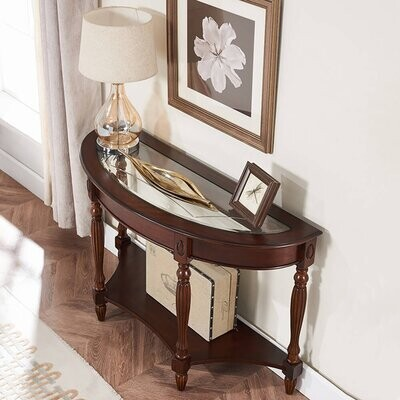 """Thumbnail for your product : Charlton Home Hermod 48"""" Console Table"""