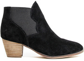 Coolway Black Judy Leather Ankle Boot