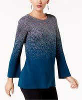 Alfani Metallic Ombre Sweater, Created for Macy's