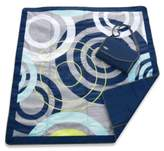 JJ Cole 5-Foot x 7-Foot All-Purpose Outdoor Blanket in Blue Orbit