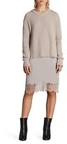 AllSaints Eloise 2-in-1 Long-Sleeve Dress