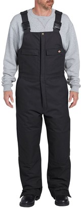 Dickies Men's Sanded Duck Flex Insulated Bib Overall