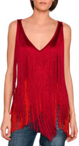 Stella McCartney Mabel Sleeveless Fringed Top