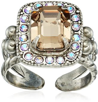Sorrelli Mirage Opulent Octagon Ring Size 7-9