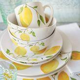 Sur La Table Lemon 16-Piece Dinnerware Set