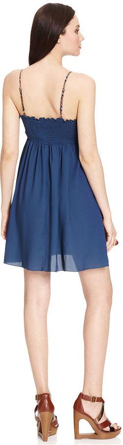 Bar III Dress, Sleeveless Sweetheart Bustier A-Line