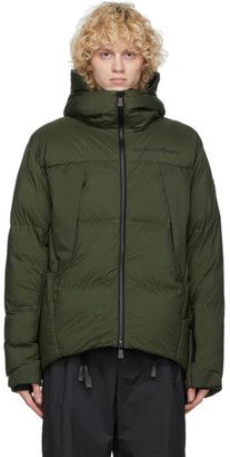 MONCLER GRENOBLE Green Down Planaval Jacket