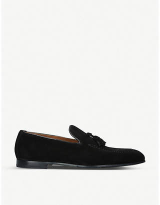 Doucal's Doucals Max Flexi suede loafers