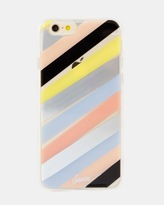 Sonix Clear Coat Case for iPhone 6/6S - Checker Stripe