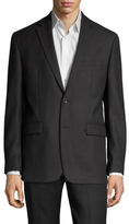 Vince Camuto Wool Checkered Notch Lapel Sportcoat