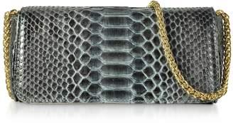 Ghibli Python Leather Mini Shoulder Bag