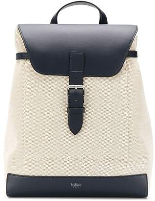 Mulberry Chiltern smooth canvas backpack