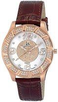 Joshua & Sons Men's JS-17-RG Swiss Quartz Diamond Watch