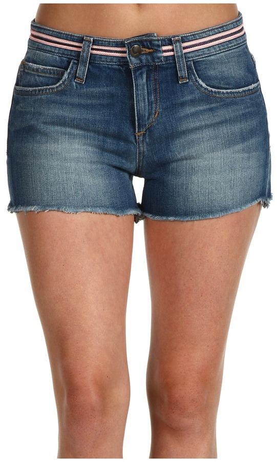 Joe's Jeans Cut-Off Short With Neon Trim in Savannah (Savannah) - Apparel