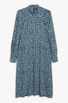 Monki High-neck midi dress