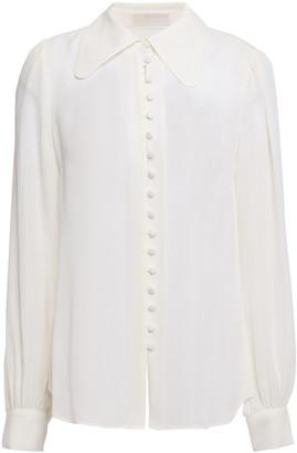 MICHAEL Michael Kors Silk Crepe De Chine Shirt
