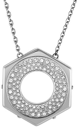 Swarovski Crystal Plated Stainless Steel Necklace