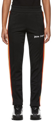 Palm Angels Black Rainbow Slim Track Pants