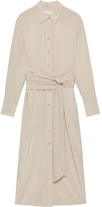 Equipment Jarvisse shirt silk dress