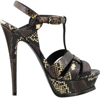 Saint Laurent Tribute Heeled Sandals